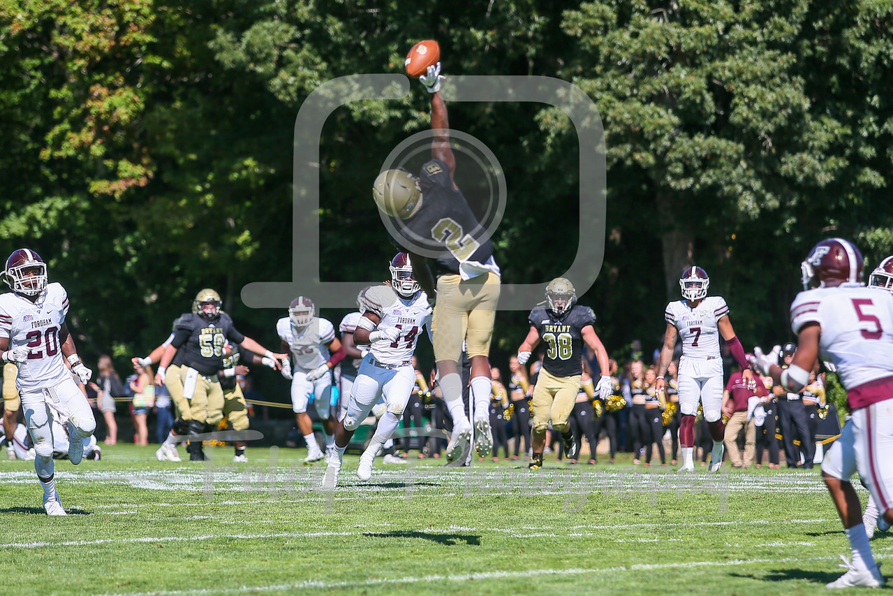 Bryant University Bulldogs wide receiver Jean Constant (2)