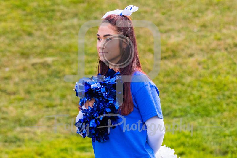 Becker College Hawks Cheerleader