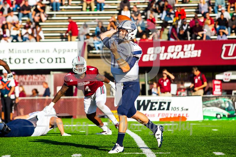 Old Dominion Monarchs quarterback Blake LaRussa (11)