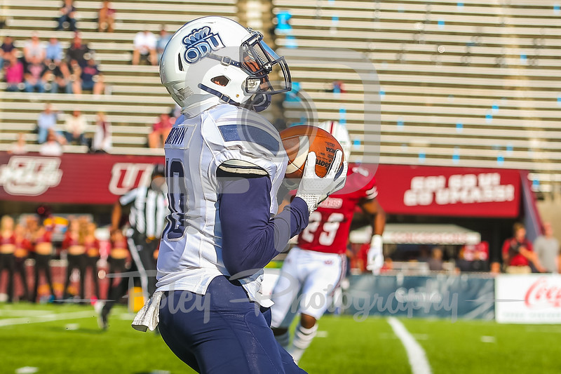 Old Dominion Monarchs wide receiver Darrell Brown (10)
