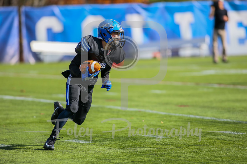 Becker College Hawks wide receiver Michael Caban (3)