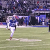 Odell warming up.