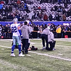 Jason Witten warming up.