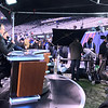 Chris Collinsworth and Bob Costas on the Sunday NIght Football set.