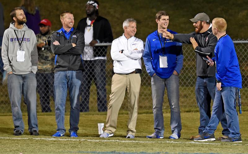 Byrnes vs Dorman Football