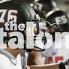 The Eagles play against the Paris wildcats at Paris Stadium  in Paris,Texas, on September 29, 2017. (Quinn Calendine / The Talon News)