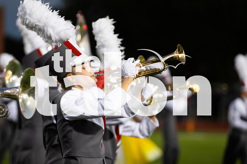 The Argyle Eagles play in Eagles stadium vs North Lamar at Argyle High School in Argyle, Texas Oct. 11, 2019. (Alex Daggett | The Talon News)