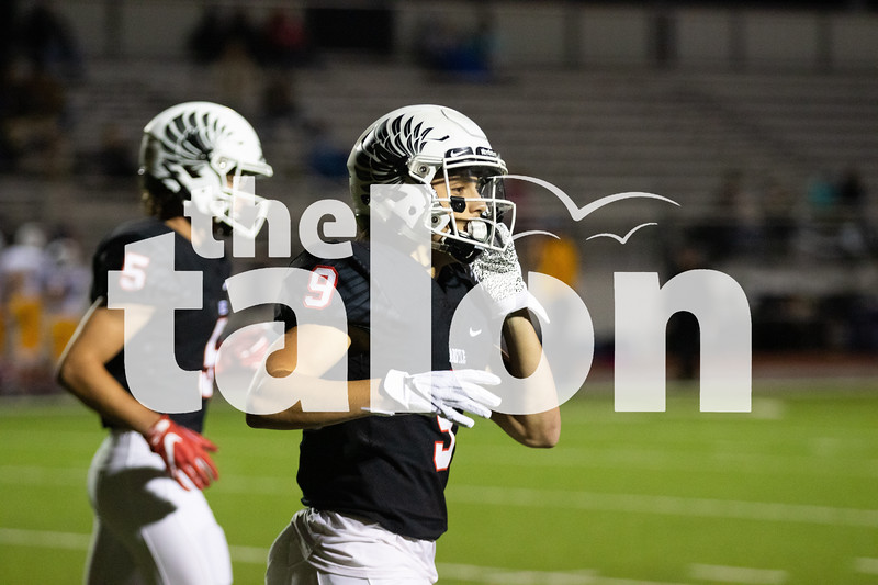 The Argyle Eagles play in Eagles vs North Lamar at Argyle High School in Argyle, Texas Oct. 11, 2019. (Sloan Dial | The Talon News)