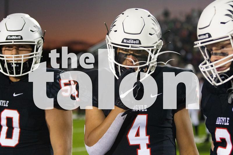 The Argyle Eagles play in Eagles vs North Lamar at Argyle High School in Argyle, Texas Oct. 11, 2019. (Sloan Dial   The Talon News)