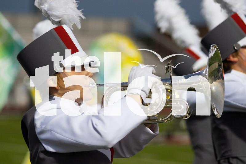 The Argyle Eagles play in Eagles vs North Lamar at Argyle High School in Argyle, Texas Oct. 11, 2019. (Sloan Dial | The Talon News)