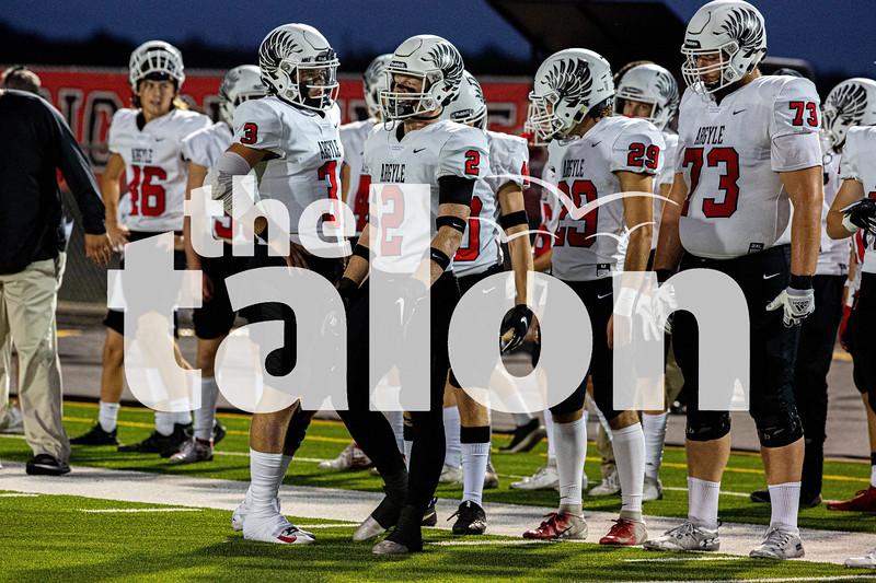 Argyle Eagles defeat the Sanger Indians Sanger Texas on October 4, 2019. Photos by Jordyn Tarrant / The Talon News
