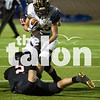 The Eagles play against Stephenville for (GiGi Robertson  / The Talon News)