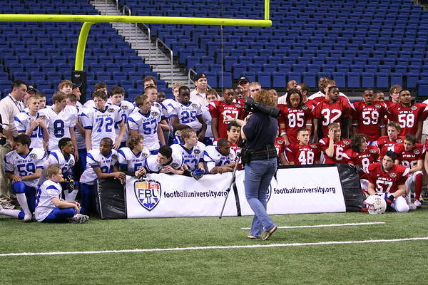 FBU End of Game Team photos