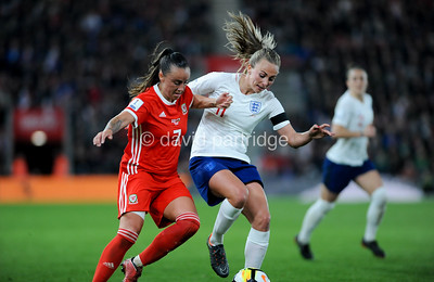 FIFA Women's World Cup  Qualifying match between England and Wales, St Mary's Stadium, April 6th 2018