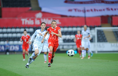 FIFA Women's World Cup Qualifying match between Wales and Bosnia Herzegovina Women, at The Liberty Stadium, June 7th 2018