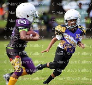 FOOTBALL - 8U - La Tigers v Oakdale