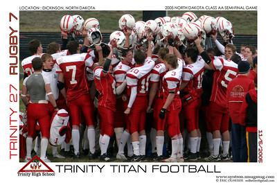 Trinity vs Rugby 2005