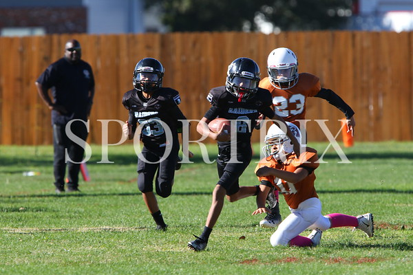 LiL Raiders vs Longhorns
