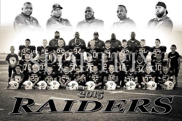 Lil Raiders Team & Individuals 2015
