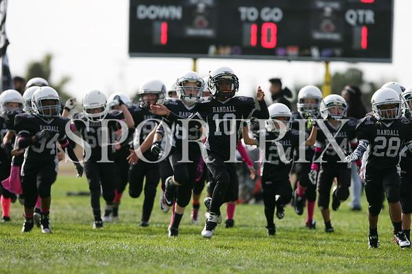 Lil Raiders vs Rebels 3-4th Grade