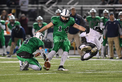 Football: Dominion vs. Woodgrove, VHSL Region 4A Playoffs Semifinal 11.25.16