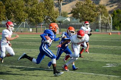 Frosh-Soph STHS vs Saratoga High School 9-8-17