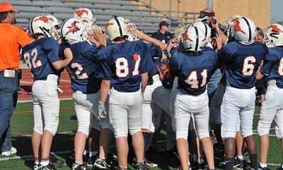2010-10-02 10:15 Jr. Midget Mtn. Crest Blue @ Mtn. Crest White (Stadium)
