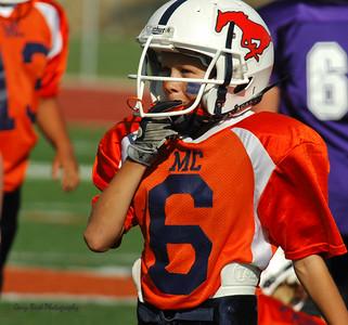 20101002 8299 WFFL Mitey Mite, Brigham City White @ Mtn. Crest Orange (Stadium)