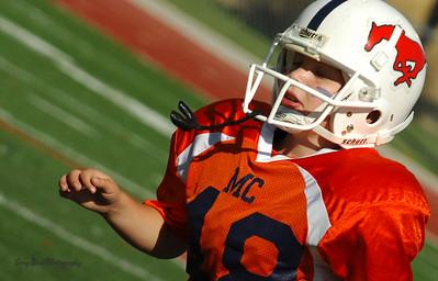 20101002 8267 WFFL Mitey Mite, Brigham City White @ Mtn. Crest Orange (Stadium)