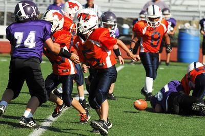 20101002 8320 WFFL Mitey Mite, Brigham City White @ Mtn. Crest Orange (Stadium)