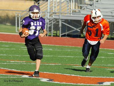 20101002 8282 WFFL Mitey Mite, Brigham City White @ Mtn. Crest Orange (Stadium)