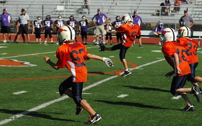 20101002 8257 WFFL Mitey Mite, Brigham City White @ Mtn. Crest Orange (Stadium)