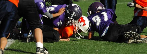 20101002 8322 WFFL Mitey Mite, Brigham City White @ Mtn. Crest Orange (Stadium)