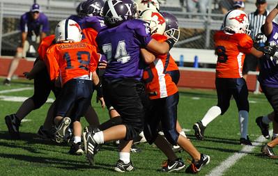 20101002 8316 WFFL Mitey Mite, Brigham City White @ Mtn. Crest Orange (Stadium)