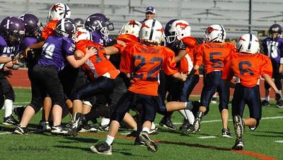 20101002 8273 WFFL Mitey Mite, Brigham City White @ Mtn. Crest Orange (Stadium)