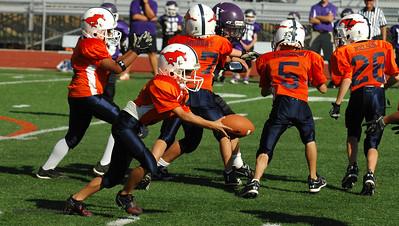 20101002 8309 WFFL Mitey Mite, Brigham City White @ Mtn. Crest Orange (Stadium)