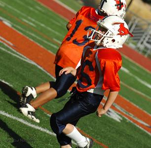 20101002 8265 WFFL Mitey Mite, Brigham City White @ Mtn. Crest Orange (Stadium)