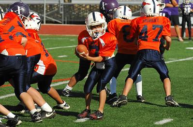 20101002 8306 WFFL Mitey Mite, Brigham City White @ Mtn. Crest Orange (Stadium)