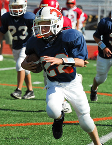 20101002 7435 Jr. Pee Wee, Logan Red @ Mtn. Crest Blue (Stadium)