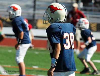 20101002 7424 Jr. Pee Wee, Logan Red @ Mtn. Crest Blue (Stadium)