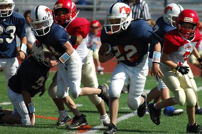 20101002 7431 Jr. Pee Wee, Logan Red @ Mtn. Crest Blue (Stadium)