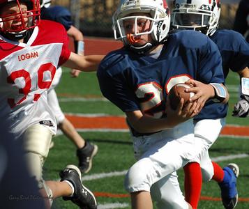20101002 7439 Jr. Pee Wee, Logan Red @ Mtn. Crest Blue (Stadium)