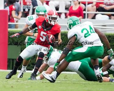 Georgia Bulldogs cornerback Damian Swann (5)