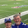 Kim and I at the USBank Stadium.