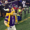 Victor the Viking mascot.