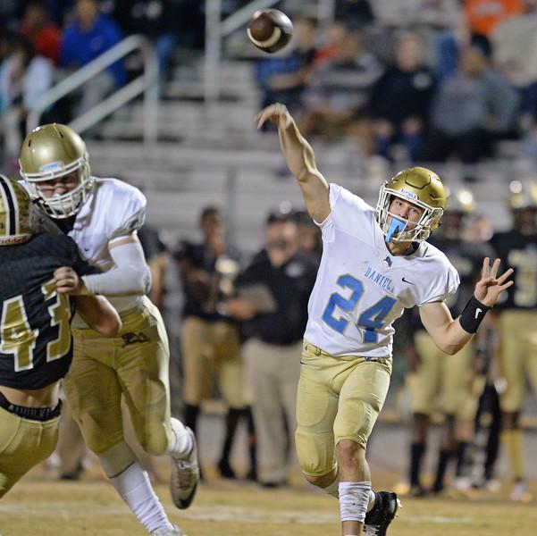Daniel at Greer Football
