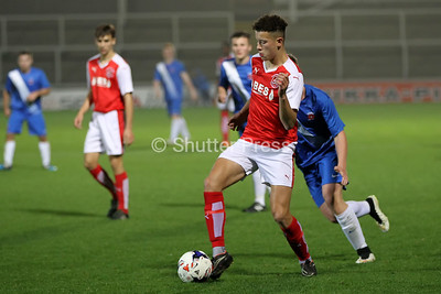 Hartlepool United vs Fleetwood Town - FA Youth Cup 1st Round