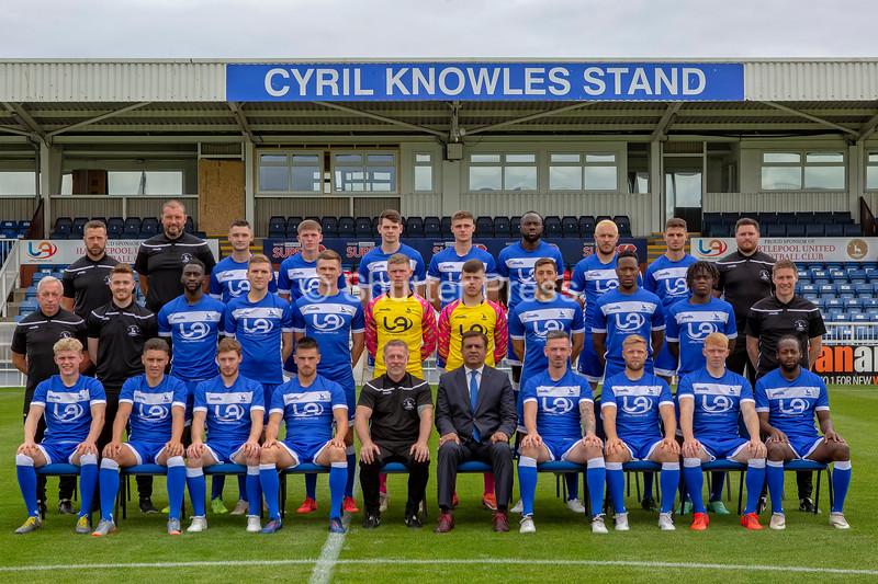Hartlepool United 1st team Squad 2019-20