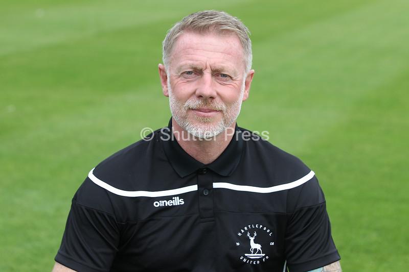 Hartlepool United manager Craig Hignett