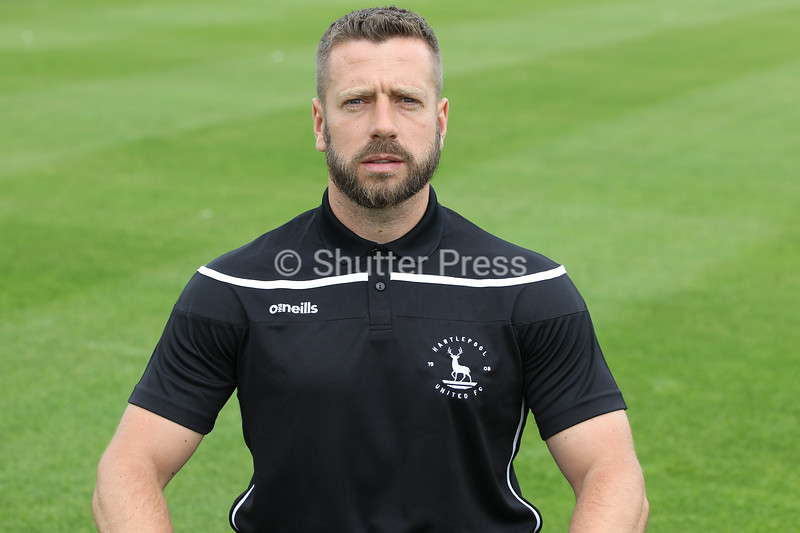 Craig Hubbard - Hartlepool United Strengthening & Conditioning Coach